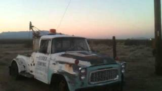 Helms Bakery Tow Truck Discovered On Old Route 66 (Mother