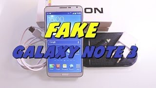 FAKE Samsung Galaxy Note 3 ! Unboxing & Review [HD