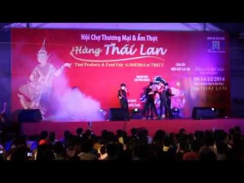 HKTM biểu diễn tại Hội chợ Thái Lan