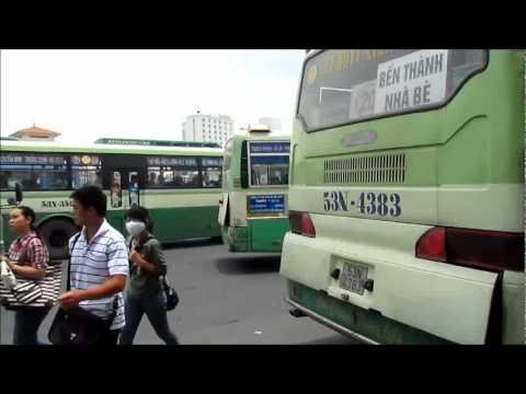 BO SUU TAP HINH ANH VIDEO TPHCM 2011 BẾN XE BUS BẾN THÀNH QUẢNG TRUONG QUÁCH THỊ TRANG so 1  3p27``