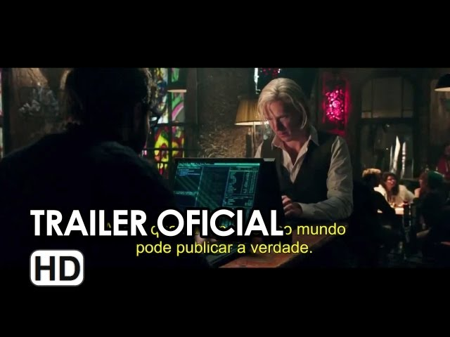 O Quinto Poder (The Fifth Estate) - Trailer 2 Legendado