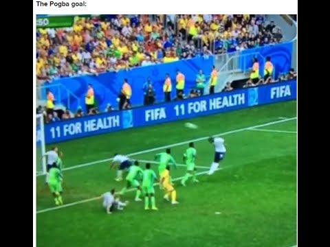 FRANCE vs NIGERIA 2-0 Paul Pogba Goals Full Match Highlights  FIFA World Cup 2014