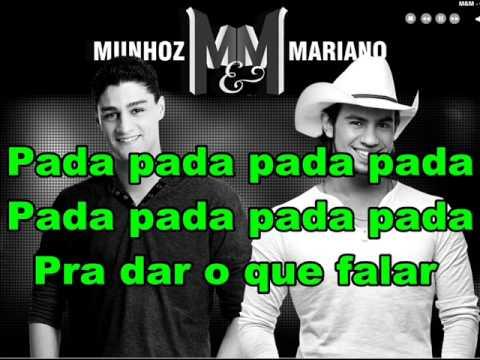Munhoz e Mariano - Pantera Cor-de-Rosa (Lyrics Letra)