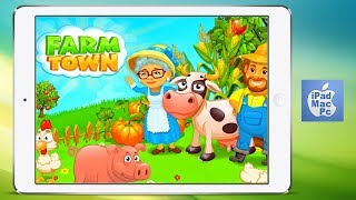 FARM TOWN - LEVEL 17 - iPad Games Free - SUBSCRIBE to my channel