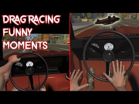 hand Simulator Drag Racing (Funny Moments)