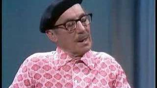 Groucho Marx and Dan Rowan: Straight Men