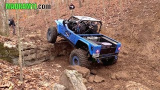 ROCK CRAWLING AT BUSTED KNUCKLE OFFROAD PARK PART 2. Багги Видео.