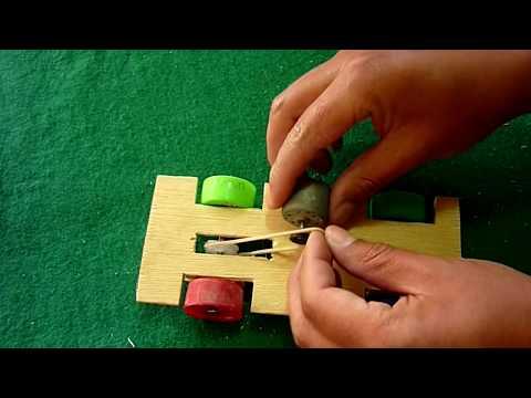 Cómo Hacer Un Coche Eléctrico Casero (Fácil de hacer)