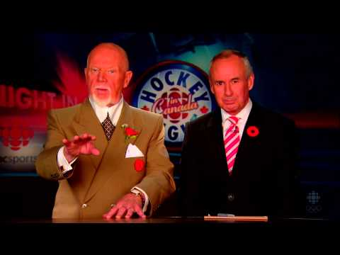 Don Cherry's take on the Philadelphia Flyers and Washington Capitals Line Brawl