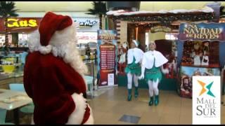 Video Papá Noel Bailando Gangnam Style En Mall Del Sur