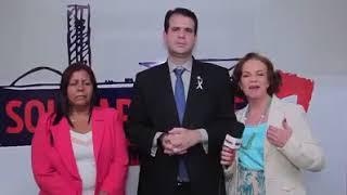 O solidariedade participa da campanha de combate à violência contra a mulher