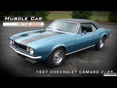 Muscle Car Of The Week Video #39: 1967 Camaro Z/28