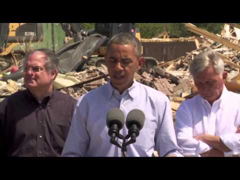 Obama: US to Help Arkansas Rebuild After Storms