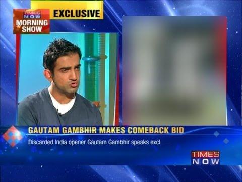 'Will score runs to make comeback' - Gautam Gambhir