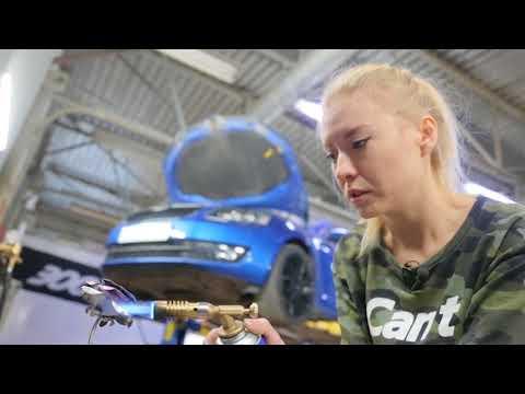 АвтоNews: рассказ о девушке-сварщике выхлопных систем. Программа от 01.12.2017