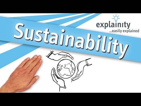 Sustainability easily explained