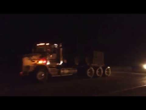 Mega Load through Potomac, MT 3/31/2014