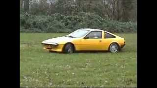 Drifting on grass with a Talbot Matra Murena