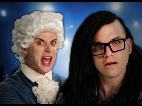 Thumbnail image for 'Mozart vs Skrillex. Epic Rap Battles of History Season 2.'