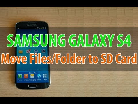 How To Transfer Pictures From Phone To Sd Card On A Galaxy Centura