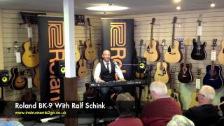 Roland BK9 Keyboard Demo - C3 Organ With Ralf Schink at instruments2go