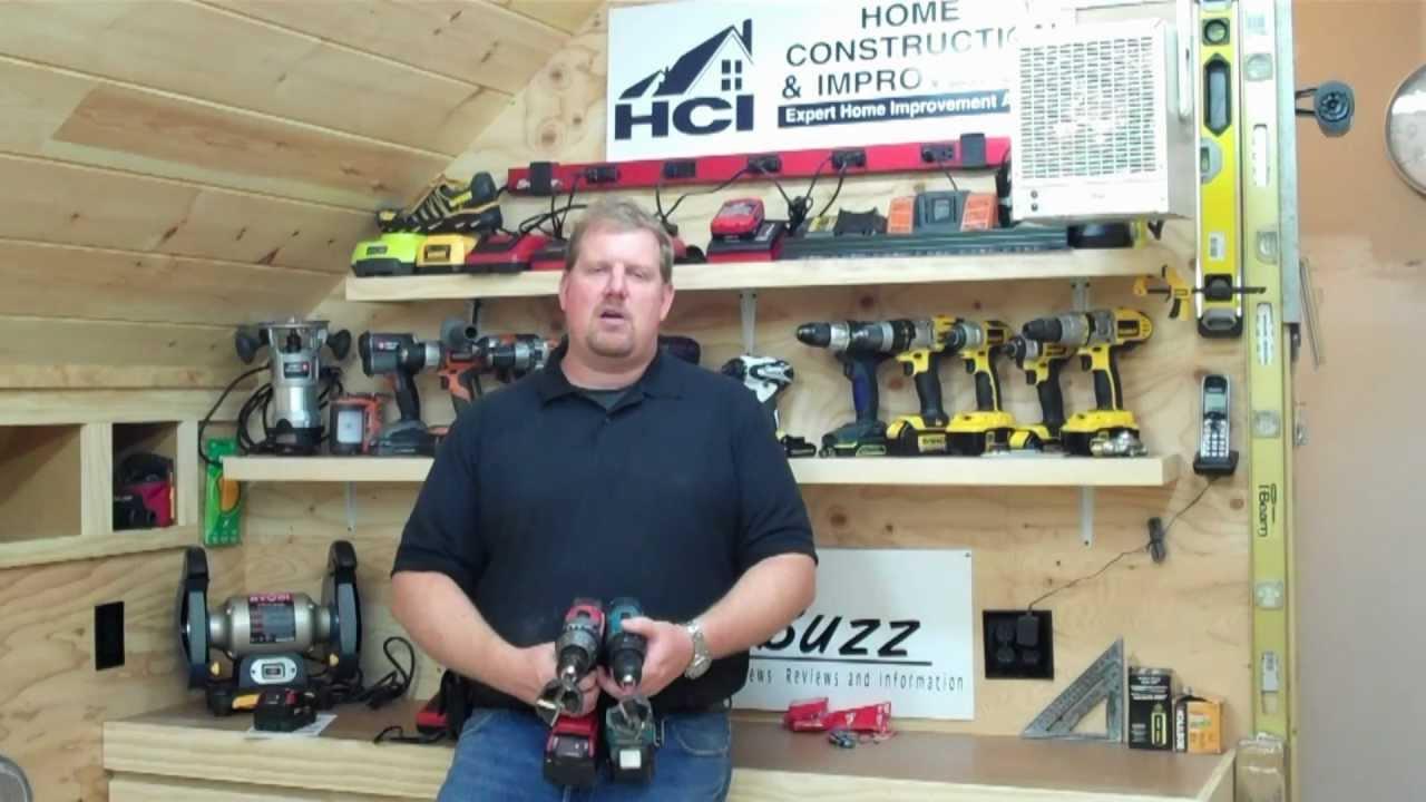 milwaukee 18v vs makita 18v brushless hammer drill test. Black Bedroom Furniture Sets. Home Design Ideas