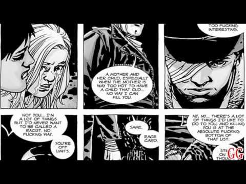 (SPOILERS!) The Walking Dead - Glenn's Death (From the Comics) HD