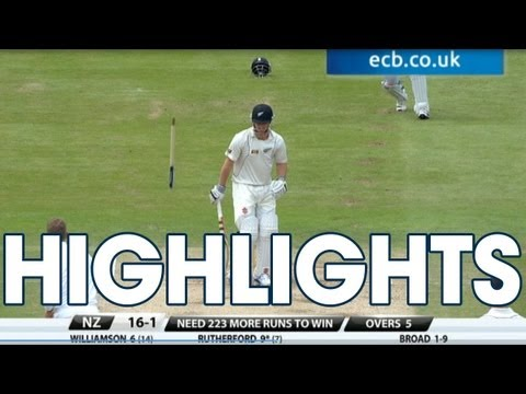 Ten wickets! Highlights England v New Zealand - Day 4 Morning Session at Lord's