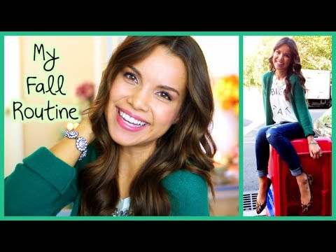 Get Ready With Me! ♥ Fall Makeup, Hair, and Fashion