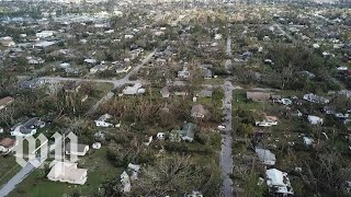See the aftermath of Hurricane Michael from above