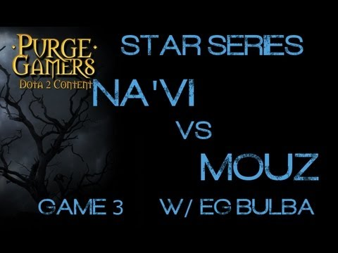 Na'Vi vs mouz g3 Star Series LAN w/ EG.Bulba