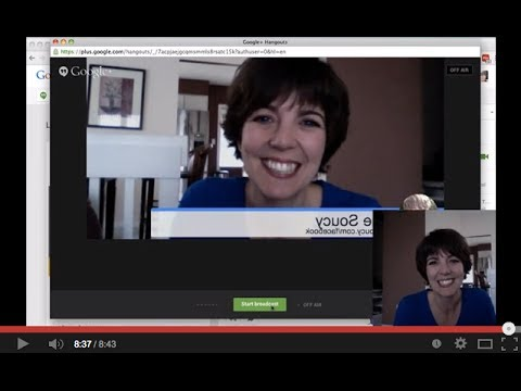Google Hangout Tutorial - How To Use Google Hangouts - November 2013 Update - Sue Soucy