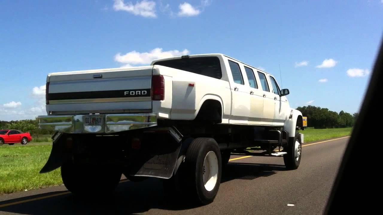 Monster truck limo