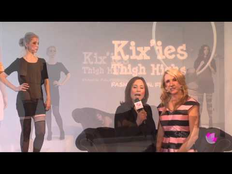 Lingerie Fashion Week  NY - Kix'ie Thigh Highs, Clare Bare Lingerie & Sophi Reaptress