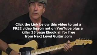 Country Lead Solo Licks Electric Guitar Lesson Ala Buck