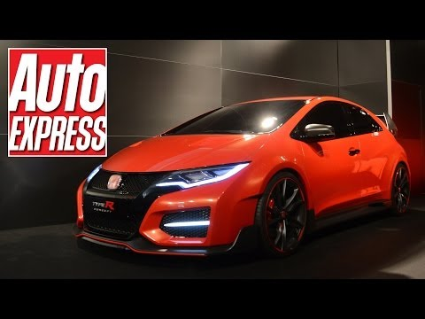 Honda Civic Type R Concept: exclusive fans' first look
