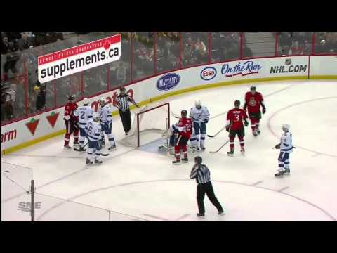 Tampa Bay Lightning vs Ottawa Senators 20.03.2014
