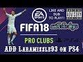 Fifa18 pro clubs Crazy Skill Laramizzle93 broadcast