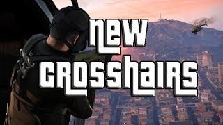 "GTA 5 Online How To Change Your Crosshair! ""GTA Online"