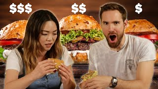 People Guess Which Burger Is Cheap Vs. Expensive