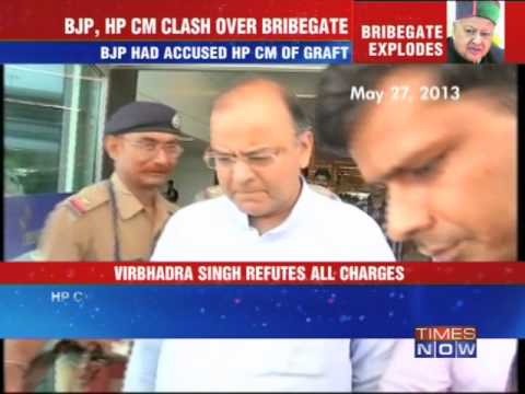 Himachal Chief Minister files defamation case against Arun Jaitley