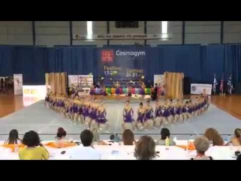 Cosmogym Contest 2015-Ασημένιο μετάλλιο για το γυμναστήριο Εν Κινήσει