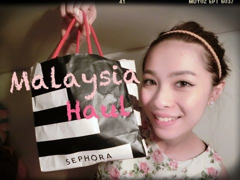 Cherrie's Daily~ Little Vlog and Malaysia Haul