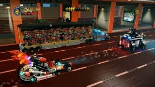 The LEGO Movie Videogame Escape From Bricksburg 100%