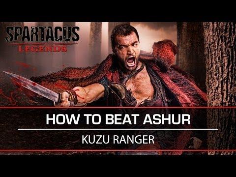 Spartacus Legends [How to Beat Ashur] Nemesis Boss Fight