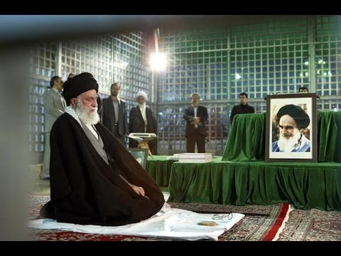 IRAN Supreme Leader says US seeks REGIME CHANGE