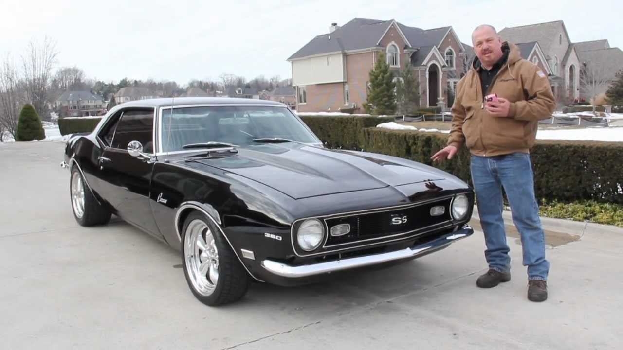 1968 chevy camaro classic muscle car for sale in mi vanguard motor sales youtube. Black Bedroom Furniture Sets. Home Design Ideas