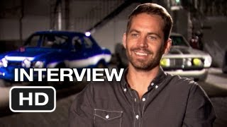 Fast & Furious 6 Interview Paul Walker (2013) Vin