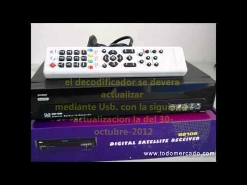 actualizacion de nagra 3  2013 dongle ibox y s810b clon. chile.wmv