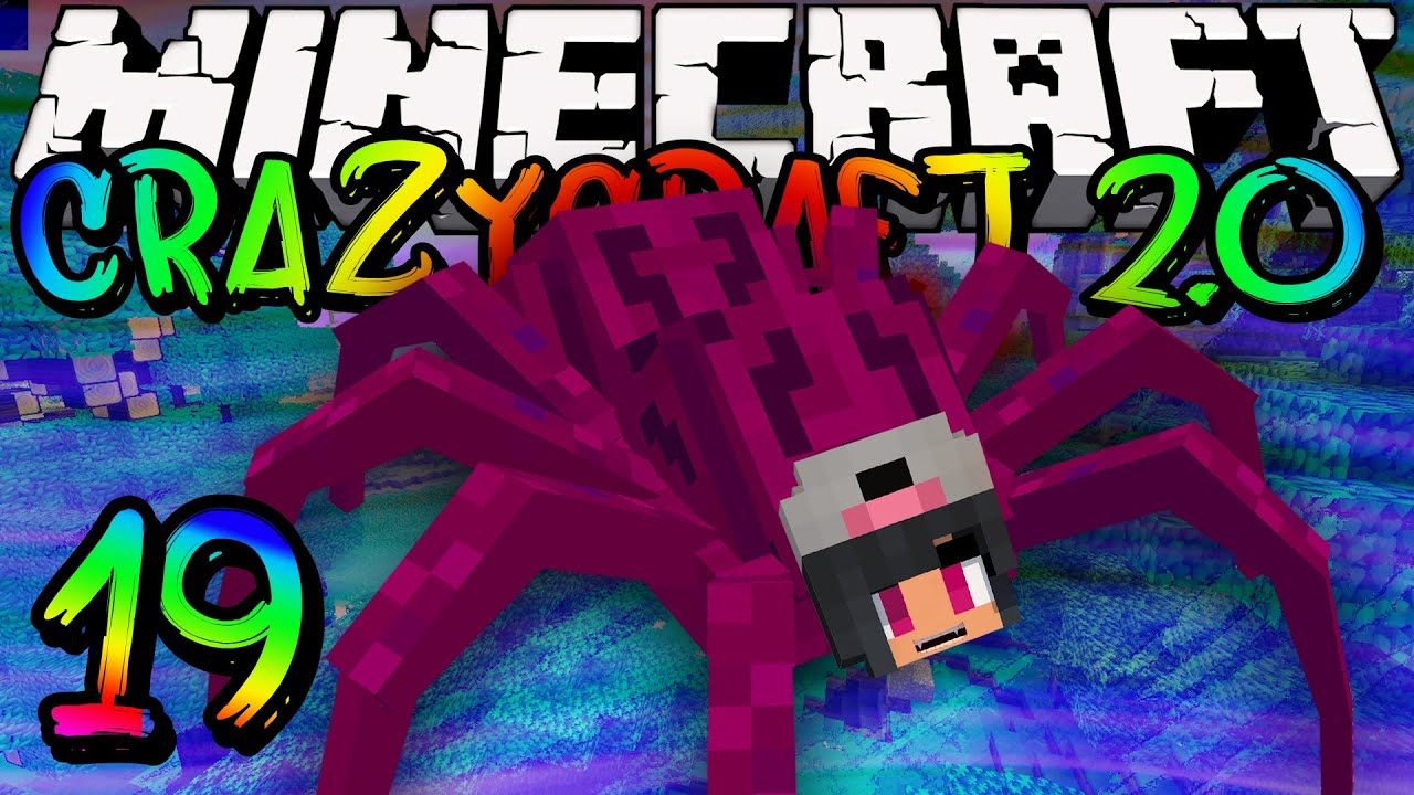 Minecraft crazy craft 2 0 part 19 good old times youtube